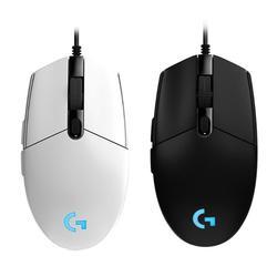 Mysz Logitech gaming G102  programowalna  6 przycisków  światło RGB 6000 DPI  przewodowa myszka komputerowa USB  mysz do laptopa do gier