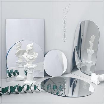 Ins rekwizyty fotograficzne lustro akrylowe odbicie deska reflektor fotografia rekwizyty strzelanie tło ozdoby pozowanie rekwizyty fotograficzne tanie i dobre opinie CN (pochodzenie) 1pcs