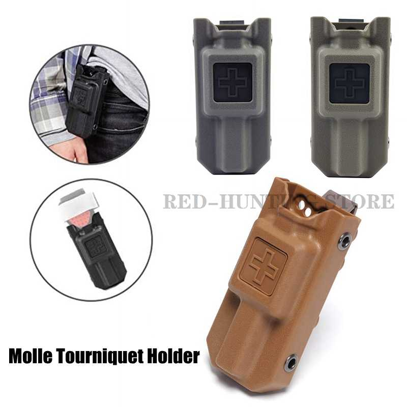 Carrier Pouch Storage Bag Box Holder Case For Outdoor Medical Molle Tourniquet