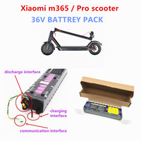 Original  36V 7.8/10.5/14.4ah battery for special battery pack of foxiaomi m365 Pro scooter 36V battery 7800 / 10500 / 14400mAH