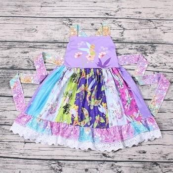Vestido de bebé con diseño de mariposa para niñas, vestido de verano para niñas, vestido para niñas, vestido para niñas