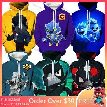 Shoot Kids NEW 2020 Hot Fashion Boys Girls 3d Sweatshirts Print Hooded Hoodies Thin Unisex Pullovers Star Tops