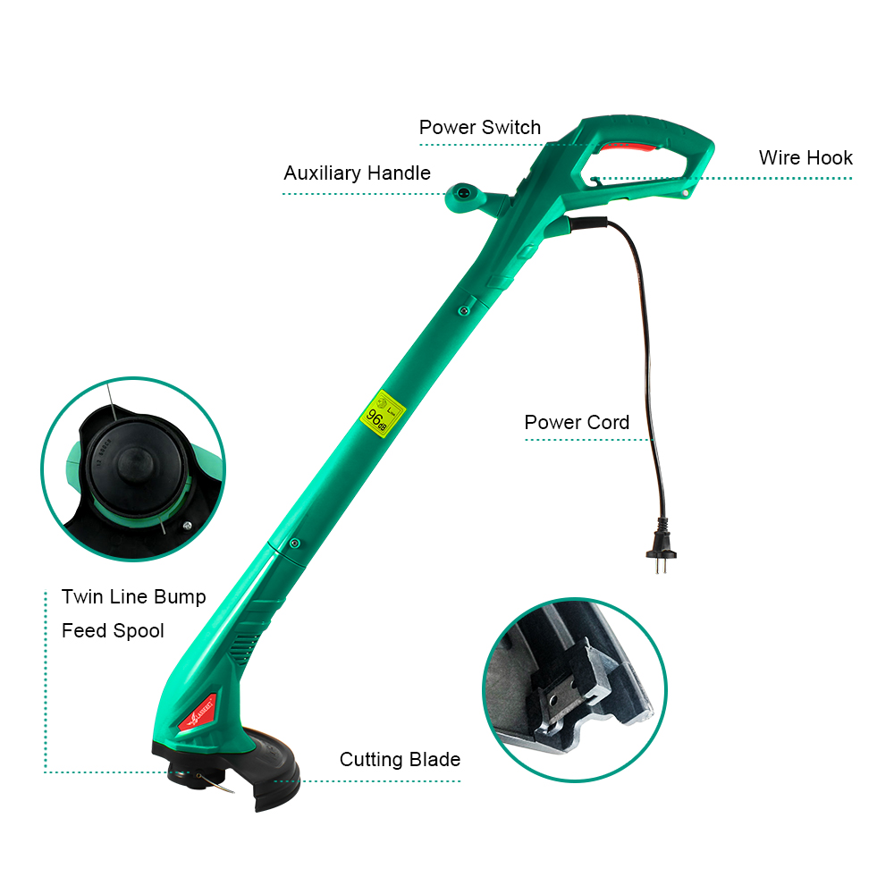 Hot DealsLANNERET Grass-Trimmer Machine-Line Hand-Cleaner Garden-Tools Brake Electric for Disassembly