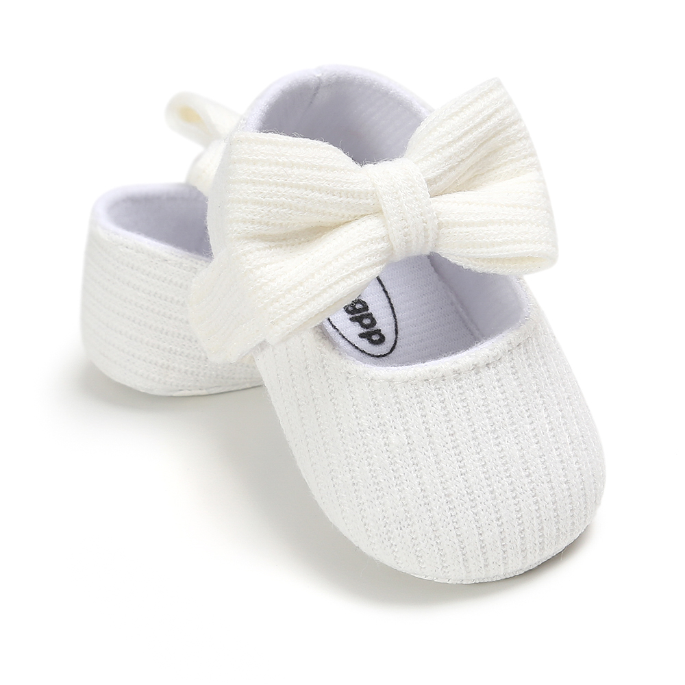 Baby Girls Cotton Shoes Retro Spring Autumn Toddlers Prewalkers Cotton Shoes Infant Soft Bottom First Walkers 0-18M 6