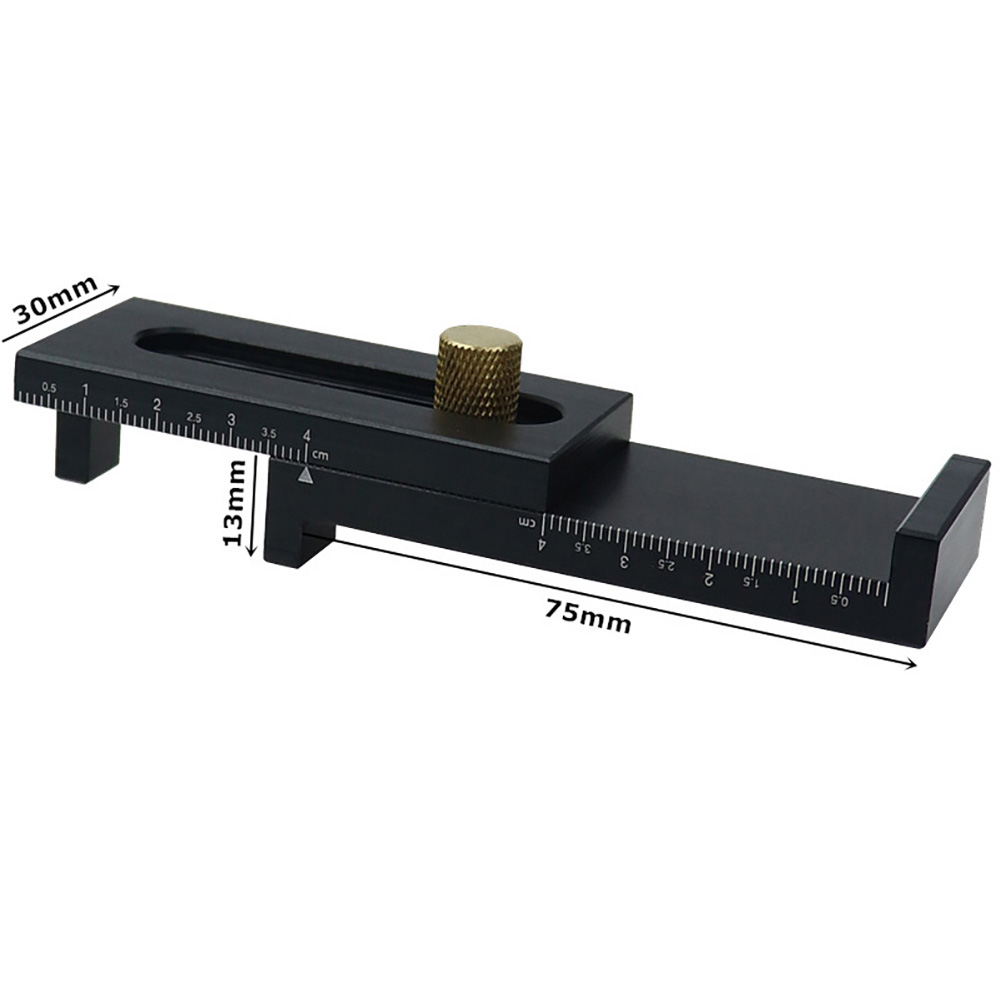 Practical Woodworking Feeler Ruler Saw Seam Gauge Gaps Gauge Saw Slot Adjuster Wood Working Tool in Gauges from Tools