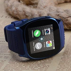 Image 4 - T8 kamera ile Bluetooth akıllı izle Facebook Whatsapp destek SIM TF kart çağrı spor Smartwatch Android telefon için IOS Samsung