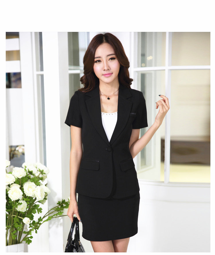 Business Women Skirt Suits Women Business Suits Formal Work Wear Office Ladies Skirt Suit 2pcs Office Wear Blazer Skirt Set