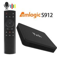 Amlogic s912 3d 4k android tx9s caixa de tv, conjunto superior, 2.4g, wifi, youtube, google box, play store caixa superior do conjunto rápido