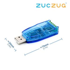 Image 2 - Industrial USB To RS485 Converter Upgrade Protection RS485 Converter Compatibility V2.0 Standard RS 485 A Connector Board Module