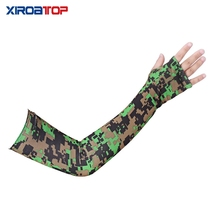 1 Pair Arm Sleeves Summer Sun UV Protection Ice Cool Cycling Running Fishing Climbing Driving Arm Warmers for Men Women