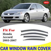 Козырек для окна honda accord 2003 2007 автомобильный дождевик