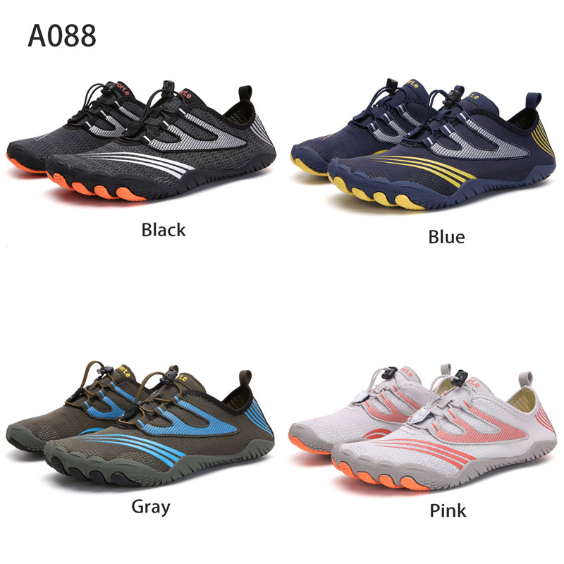 Outdoor Beach Water Shoes Men&Women Aqua Shoes Quick-dry Lightweight Breathable Rubber  Outdoor Professional Water Sports Sneake 5
