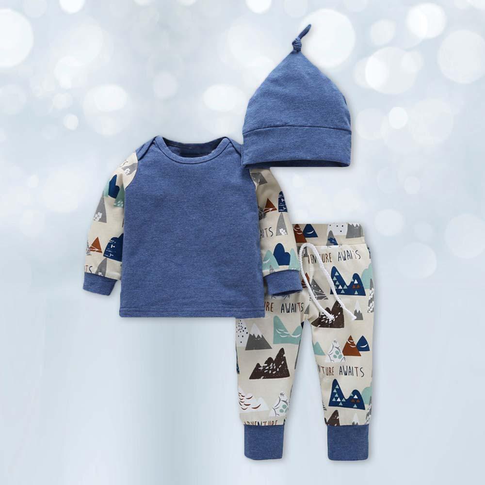 Комплект из 3 предметов детский осенний спортивный свитер с рисунком для мальчиков, мягкий свитер с длинными рукавами Модный хлопковый Детский свитер с рисунком