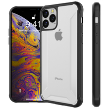 For iPhone 11 11 Pro Case Shockproof Hybrid TPU+PC Clear Slim Protective Armor Cover for iPhone 11 Pro Max 2019 Case Transparent for iphone 11 11 pro case shockproof soft tpu bumper acrylic armor transparent back cover for iphone xi 11 pro max case clear