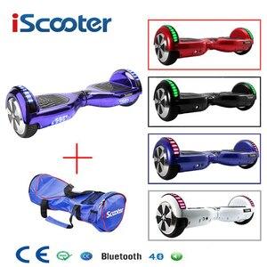 Iscooter hoverboard ul2272 bluetooth skate elétrico volante roda inteligente 2 roda auto equilíbrio em pé scooter hover board|hover board|scooter hover board|self board -