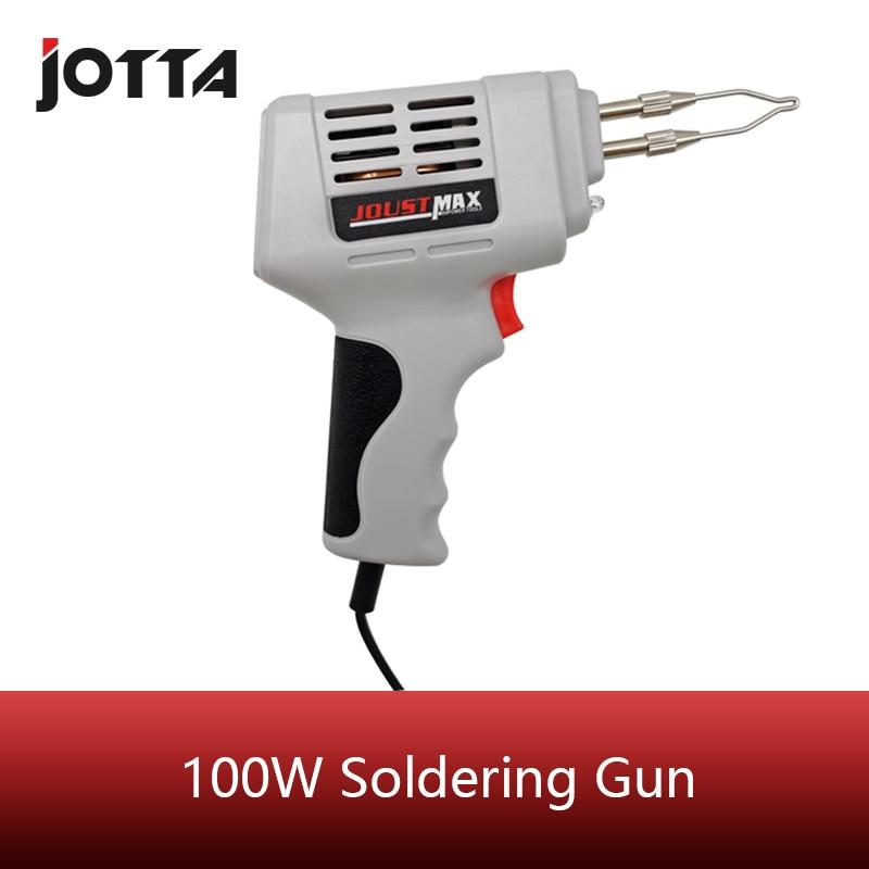 Electrical Soldering Iron Gun Hot Air Heat Gun Hand Welding Tool  Welding Repair Tools Kit EU 220V 100W Welding Torch