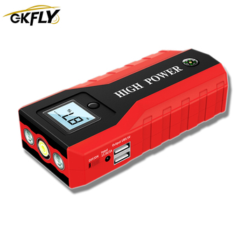 GKFLY Emergency 20000mAh Starting Device 1000A 12V Car Jump Starter Power Bank Car Charger For Car Battery Booster Buster LED image