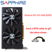 Graphics-Cards GPU Gaming Pc RX470 GDDR5 256bit Sapphire Amd Express-3.0 Desktop PCI
