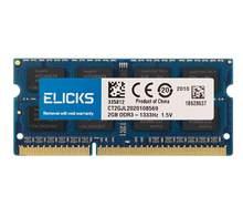 ELICKS 1GB GB 4GB 8 2GB DDR2 DDR3 RAM DDR4 memórias RAM Notebook Laptop 533 667 800 1066 1333 1600 1866 2133 2400 2666MHz