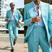 2020 Latest Blue Mans Suits For Wedding Party Suit Dinner Suit Groom Wear Toxedo твидовый костюм Two Pieces Suit(Jacket+Pants) костюм conso wear conso wear mp002xw1ikzz