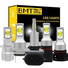 BMTxms H7 LED Auto Licht H4 H8 H9 H11 H1 H3 9005 9006 5202 H16 PSX24W PSX26W P13W 880 881 h27 DRL led Auto Nebel Lampe 1300LM