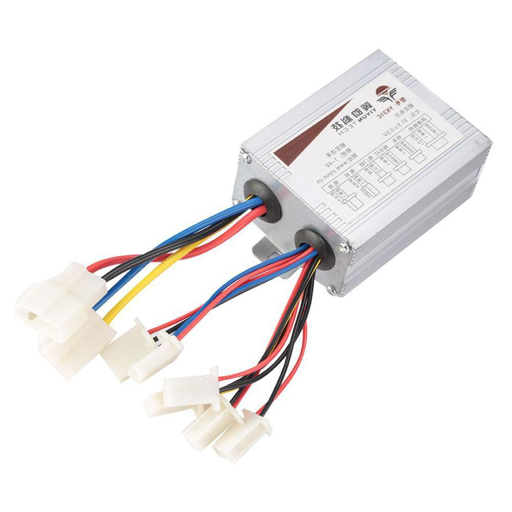 Scooter Controller Bike Motor Brushed Controller Box for Electric Bicycle Scooter E-bike Accessory12V/24V/36V/48V 500/800W DC