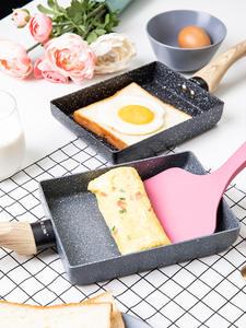 Non-Stick Pan Egg-Pan Gas-Cooker Kitchen-Pot Fry Pancake Omelette Black Tamagoyaki