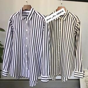 Image 5 - נשים חולצה אביב קיץ פשוט חולצה חדש החבר סגנון קלאסי צללית מוצק חולצות