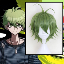 цена на Anime Danganronpa Cosplay Wigs Rantarou Amami Cosplay Wig Heat Resistant Synthetic Wig Hair Halloween Party Game Wigs