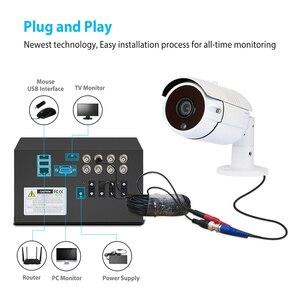 Image 2 - ANRAN Kit de vidéosurveillance DVR 8CH, Kit de caméras de sécurité analogique HD DVR, pour lintérieur et lextérieur, Vision nocturne infrarouge 1080P