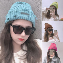 13/cores unissex inverno malha gorro chapéu casual beanies waffle toque woolie headwear chapéu de queda moda sólida boné de docker