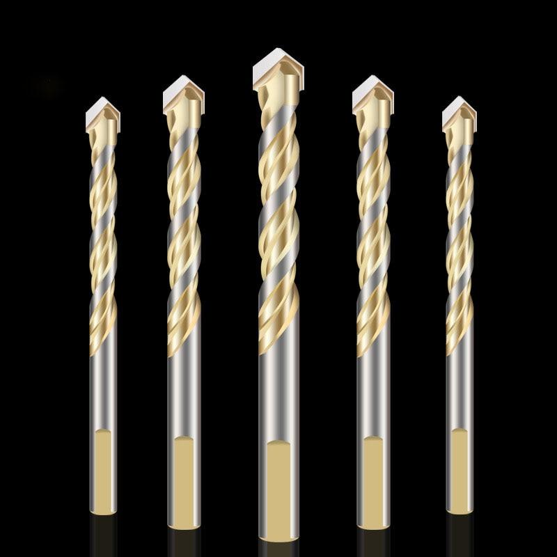 1pcs Power Tool Diamond Drill Hammer Concrete Tile Metal Round Handle Wall Hole Saw Bit