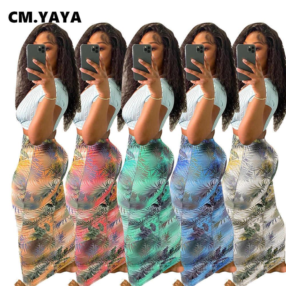 Femmes Femmes Célébrité Moulante Tie Dye Imprimé Midi Jupe Longueur