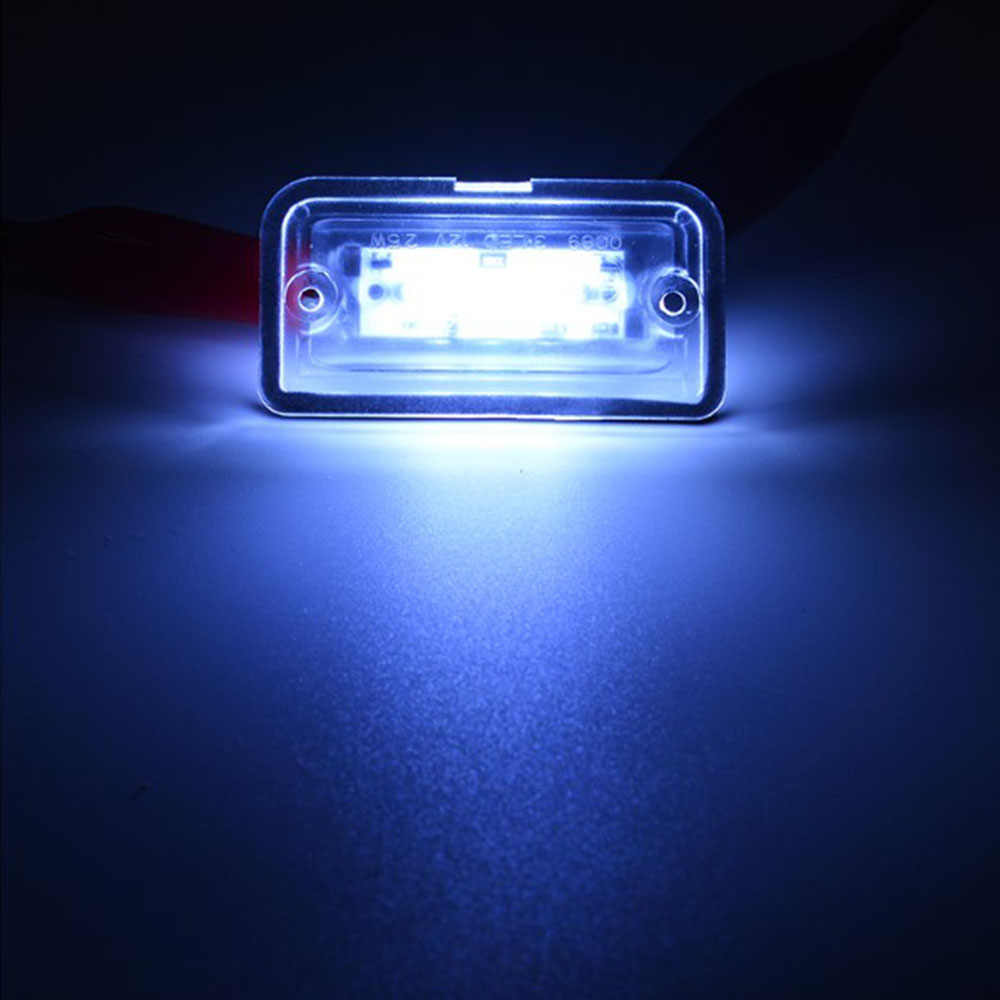 2pcs Auto Car LED Luci Della Targa di immatricolazione di Ricambio Per Mercedes-Benz C W203 CLK W209