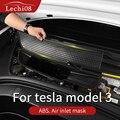 Крышка на входе воздуха для Tesla model 3 Аксессуары/автомобильные аксессуары модель 3 tesla three tesla model 3 carbon/аксессуары