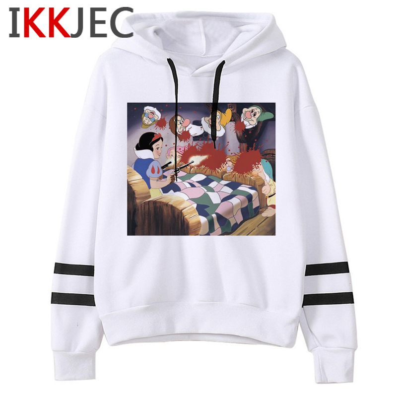 Aesthetic Harajuku Funny Cartoon Hoodies Women/men Grunge Princesses Vintage Sweatshirt 90s Graphic Fashion Hoody Female/male 32