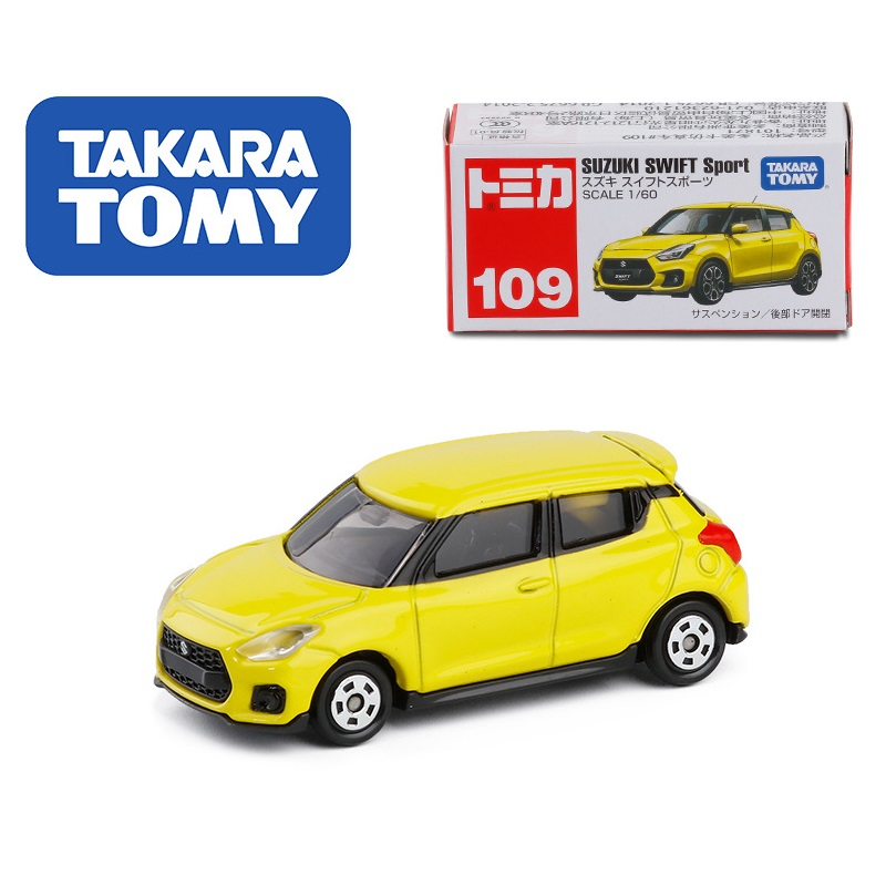 Takara Tomy Tomica 109 Suzuki Swift Sport Miniature Car Yellow