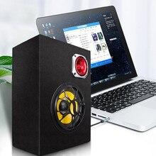 Active Speakers Subwoofer Car-Audio 300watts Built-In 12v Hifi 220v 2-In-1 Remote 5inch
