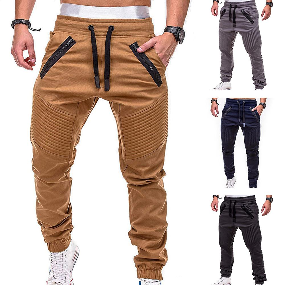 Trousers Tracksuit Sweat Skinny Joggers Casual-Pants Gym Slim Sports Hot-Sale Male Cotton
