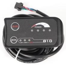 Светодиодный дисплей для электрического велосипеда 810, панель управления 3, вспомогательный светильник, индикация выключателя питания, модель управления, головной светильник, водонепроницаемый, Conne