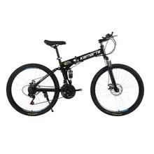 Bicycle Bike-Spoke Mountain-Bike Folding Double-Disc Adult 24-and-26inch-24/27/30-speed