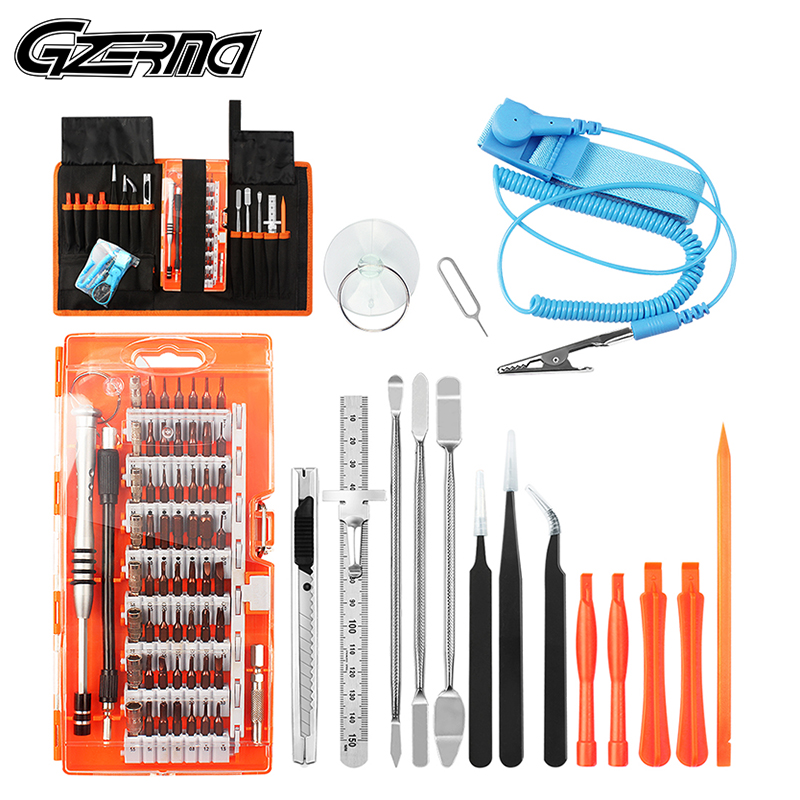 75 in 1 Professional Precision Screwdriver Set Opening Cell Phone Repair Tools Kit For Samsung S9 S7 For iPhone 11 Repair Tools(China)