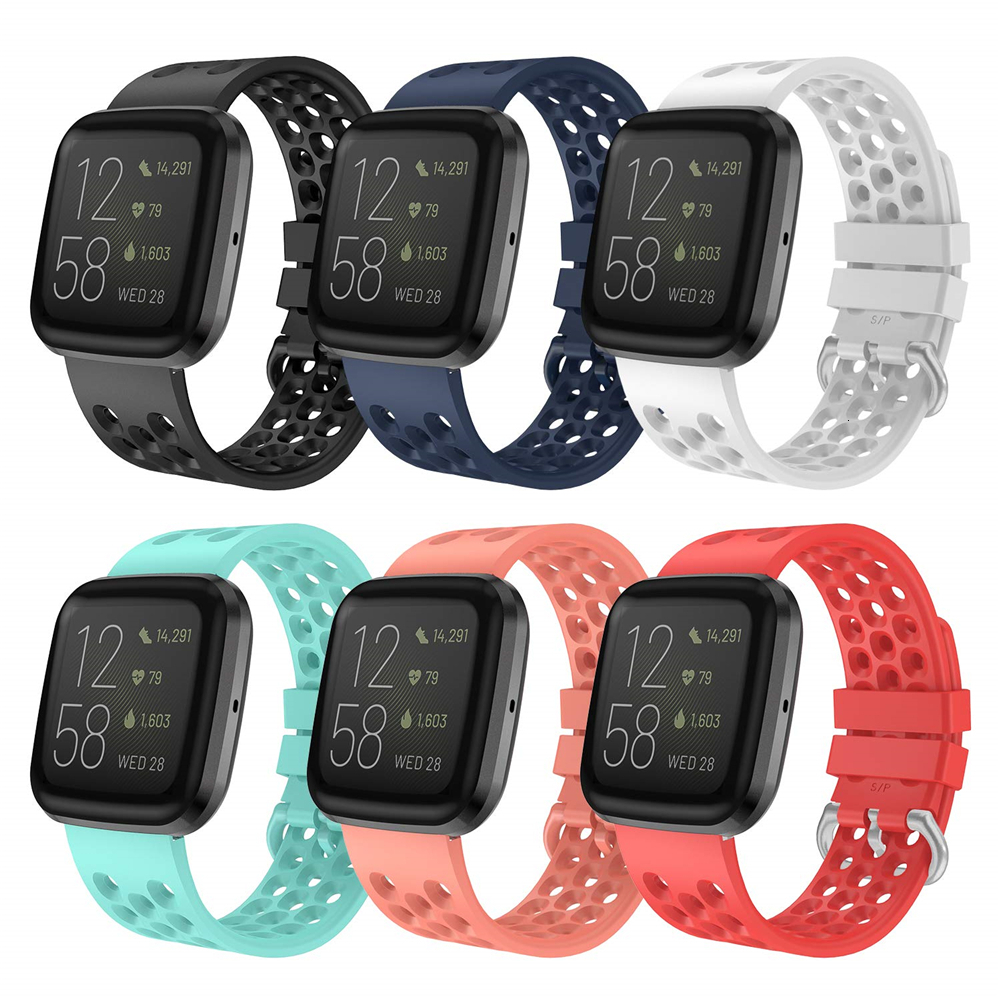 Replacement Band For Fitbit Versa 2 Soft Silicone Waterproof Wrist Sport Accessories Watch Strap For Fitbit Versa/Versa 2 Band