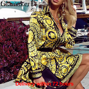Baroqueness Vintage Gold Dress 1