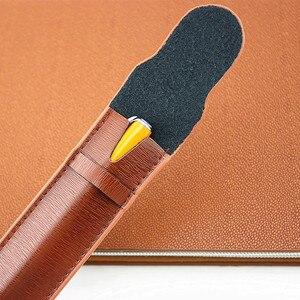 Image 2 - Da Cao cấp Đựng Bút máy Ốp Lưng/Túi cho Đĩa Đơn Bút Cà Phê Bút/Túi