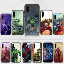Marvel Avengers captain Spiderman legends Cassa Del Telefono Fonda Per Huawei P9 P10 P20 P30 Lite 2016 2017 2019 plus pro P di smart(China)