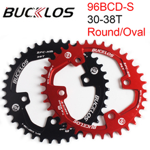 96BCD-S Oval Chainring MTB 32T 34T 36T 38T Chain Ring Round Mountain Bike Chainwheel Fit SHIMANO XTR XT SLX Cycling parts