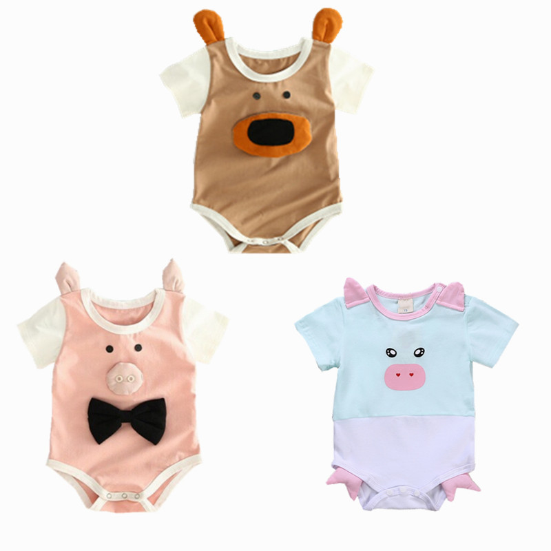 Pig Animal Baby Onesies Toddler Baby Girl//Boy Unisex Clothes Romper Jumpsuit Bodysuit One Piece