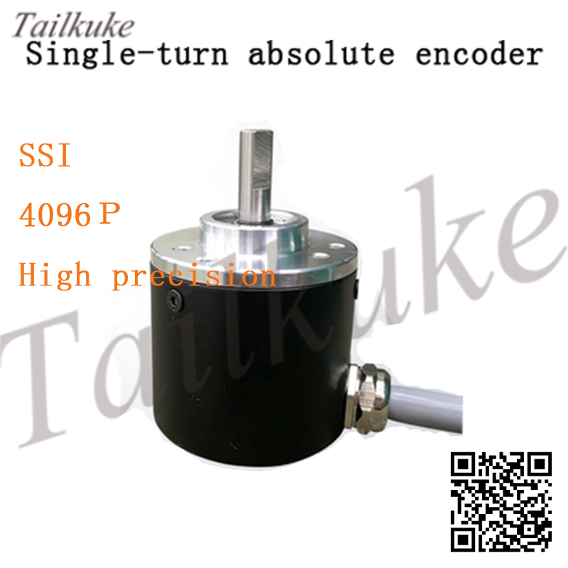 Single-turn Absolute Encoder Three-wire Ssi Output 4096p High-precision Connected To Microcontroller Stm32