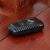 1pcs Car Key Case Cover Carbon Fiber Replacement For BMW F20 F22 F30 F32 F10 F80